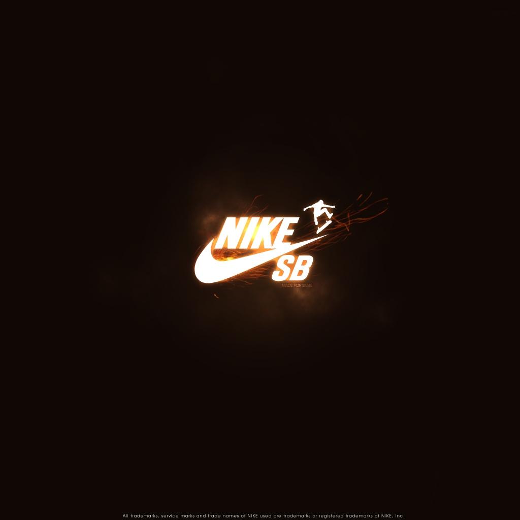 Download Nike SB Logo   HD Wallpapers 1024x1024