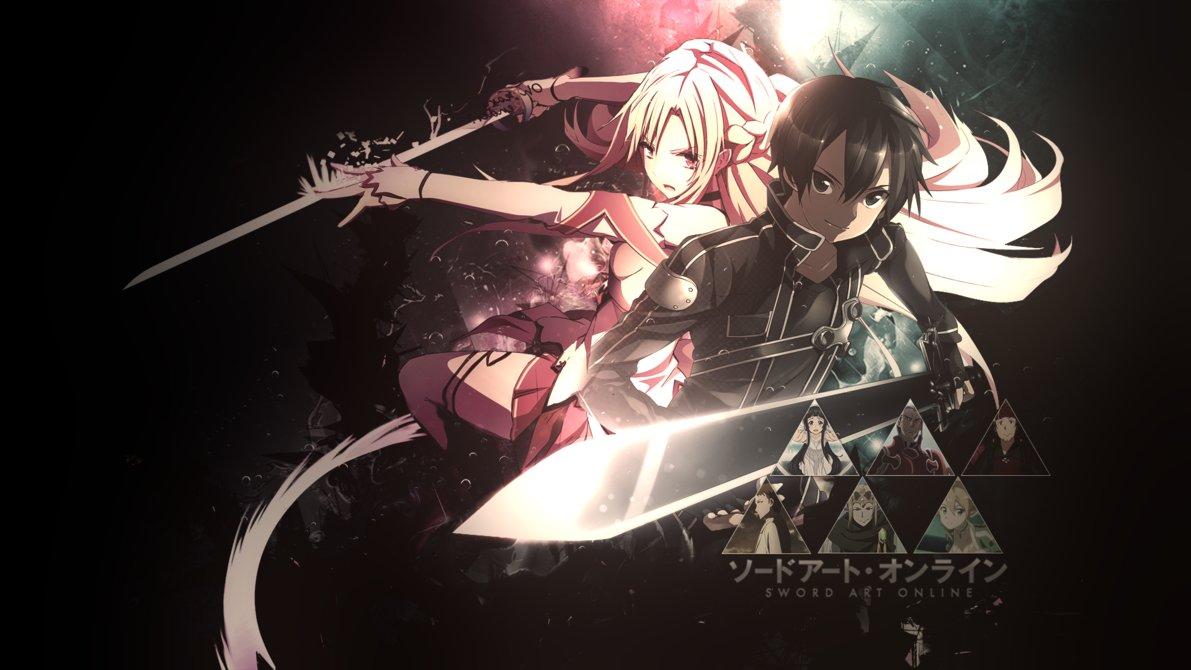 Sword Art Online Wallpaper 2 by dani17k 1191x670