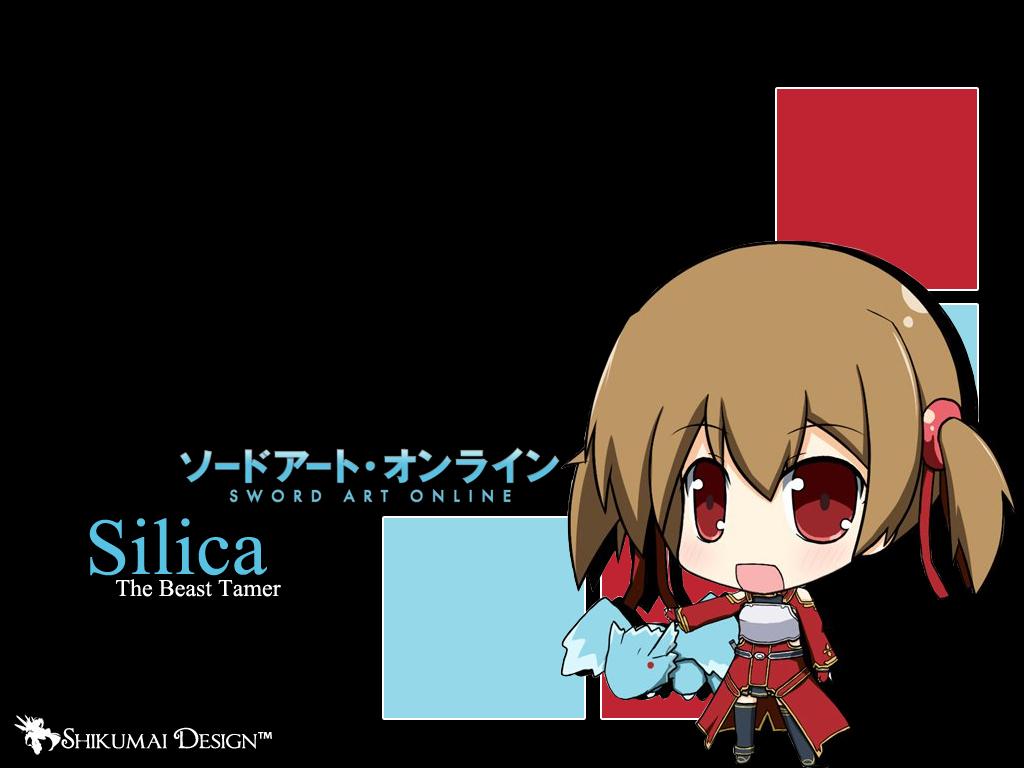 silica wallpaper design sword art online by zerolshikumai designs 1024x768