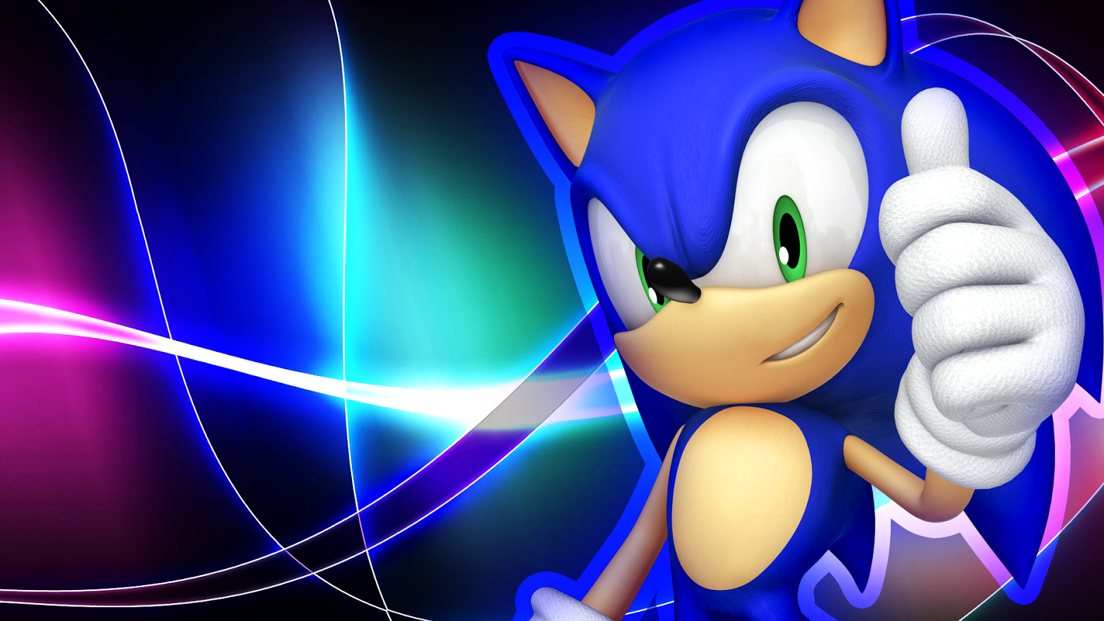 Sonic The Hedgehog Wallpaper HD Sonic Coloring Pages 1600x900