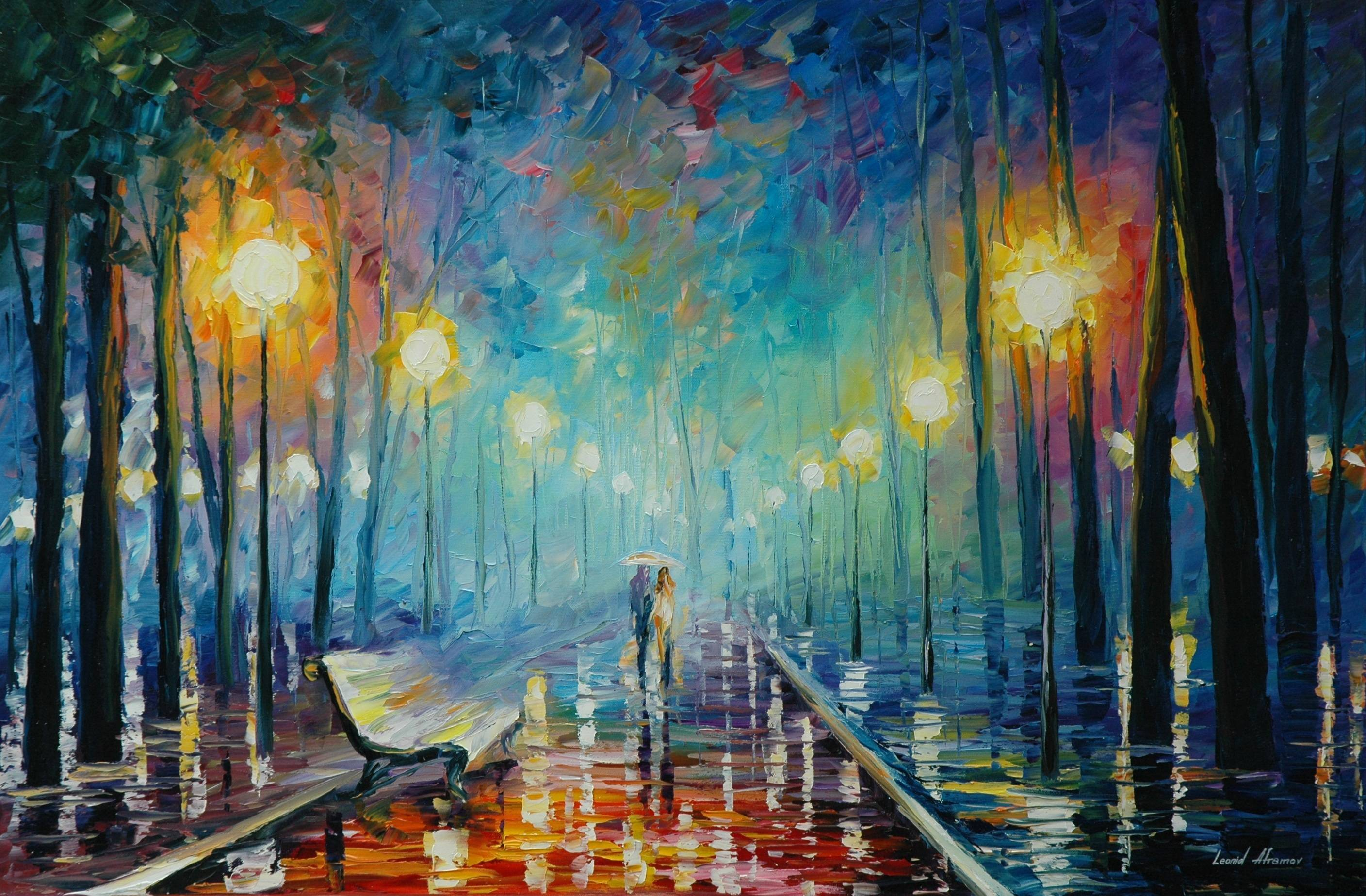 Leonid Afremov Wallpapers 2816x1848