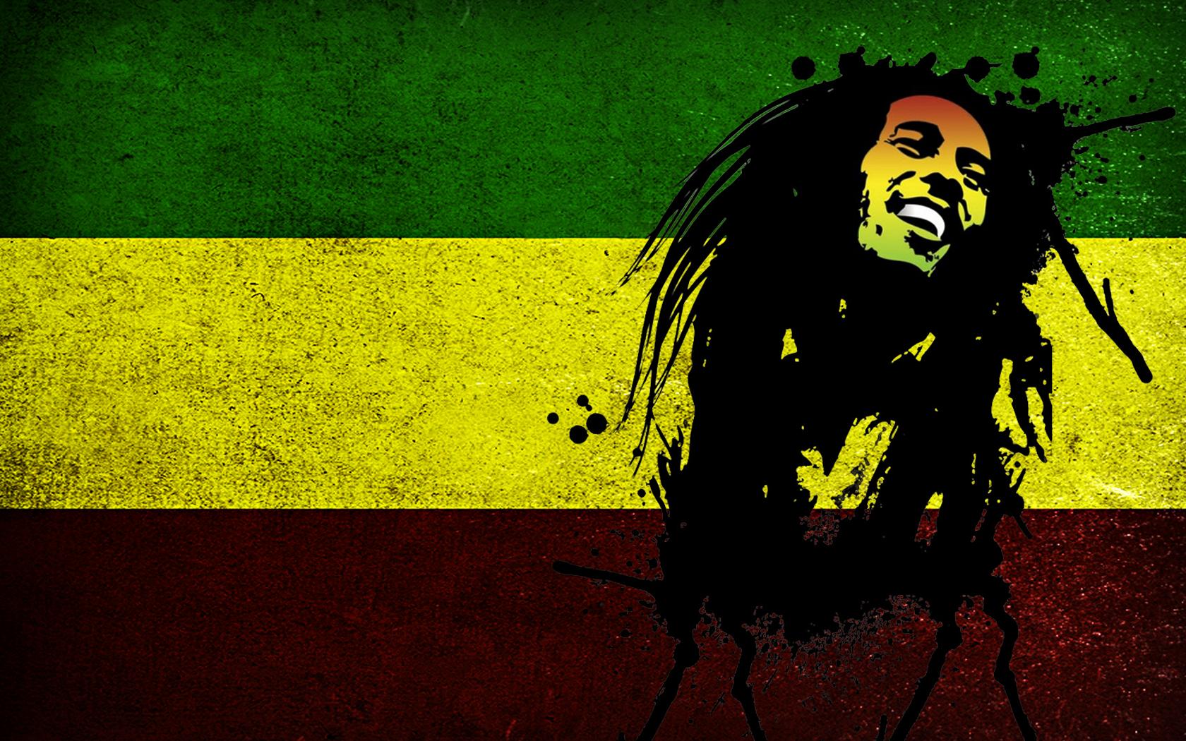 Bob Marley Reggae Music Wallpaper HD 11580 Wallpaper WallpaperLepi 1680x1050