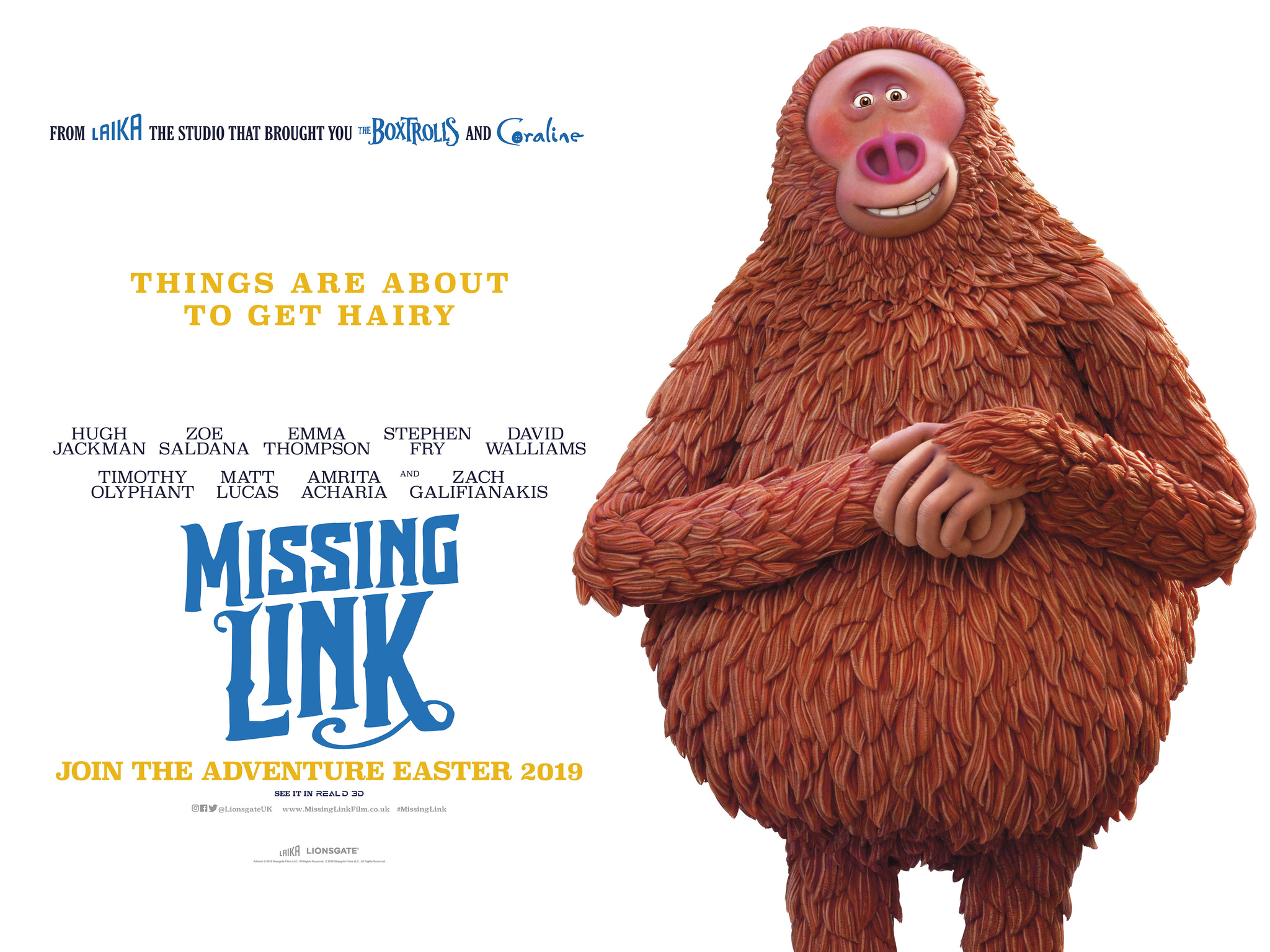 Missing Link 2019   Photo Gallery   IMDb 2048x1536