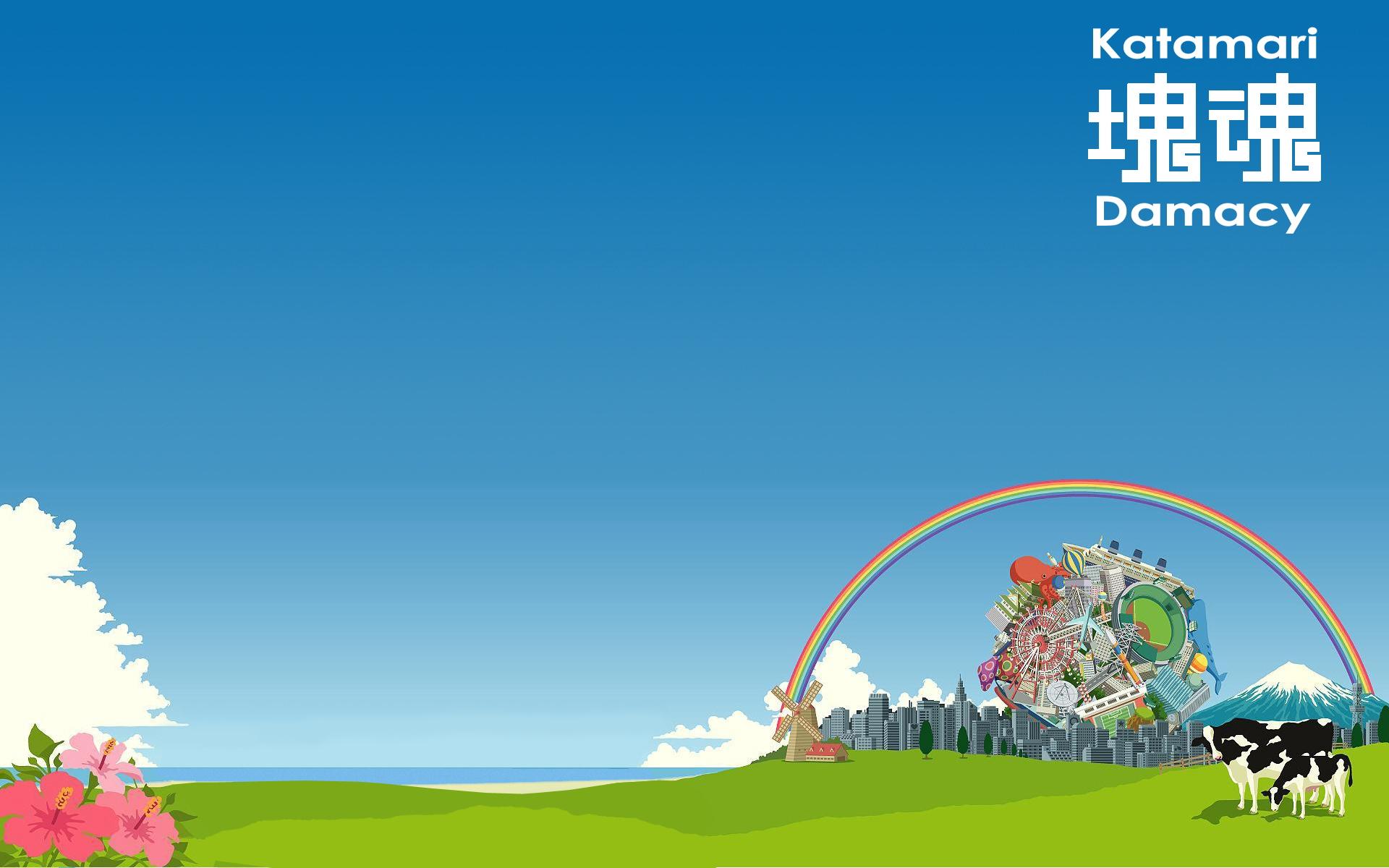 Katamari Damacy Wallpapers Katamari Damacy Myspace Backgrounds 1920x1200