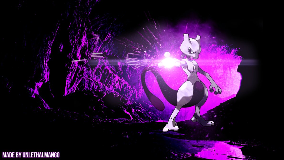 Pokemon HD Mewtwo Wallpapers - WallpaperSafari