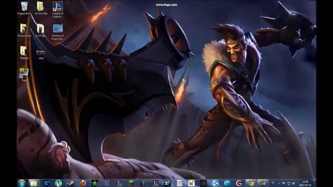 League of Legends Animated wallpapers 1280x720