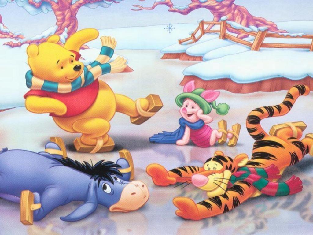 Winnie the Pooh Christmas - Christmas Wallpaper (2735497) - Fanpop