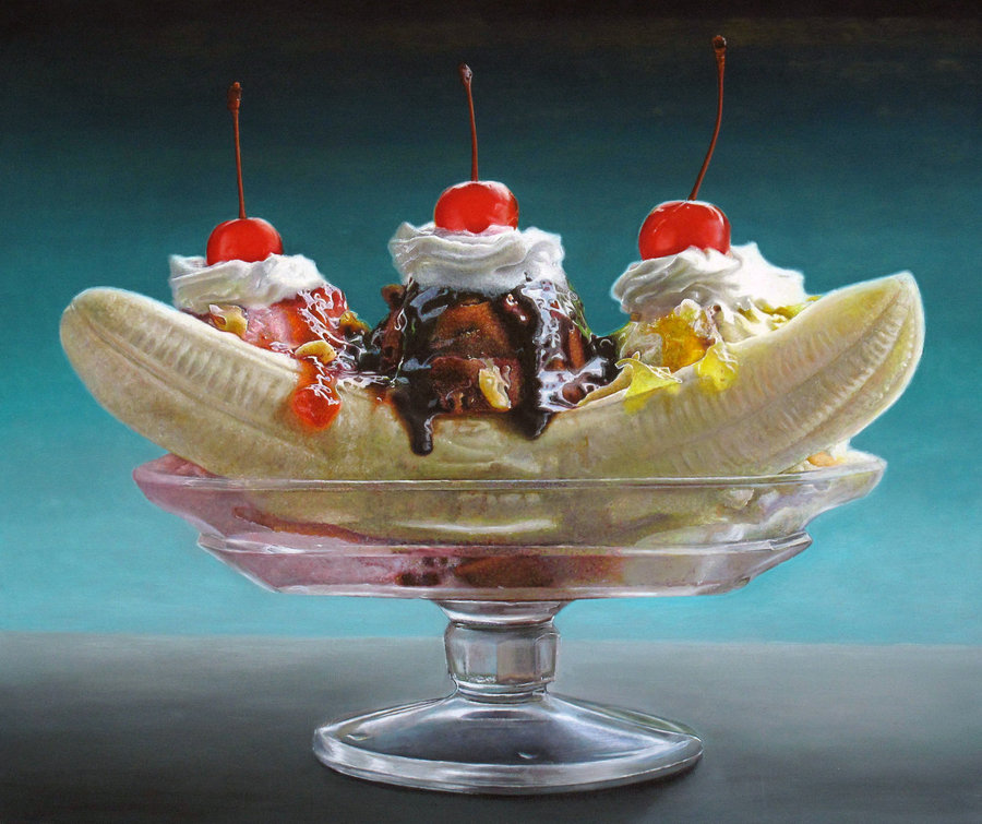 Big Banana Split by elliez1 900x755
