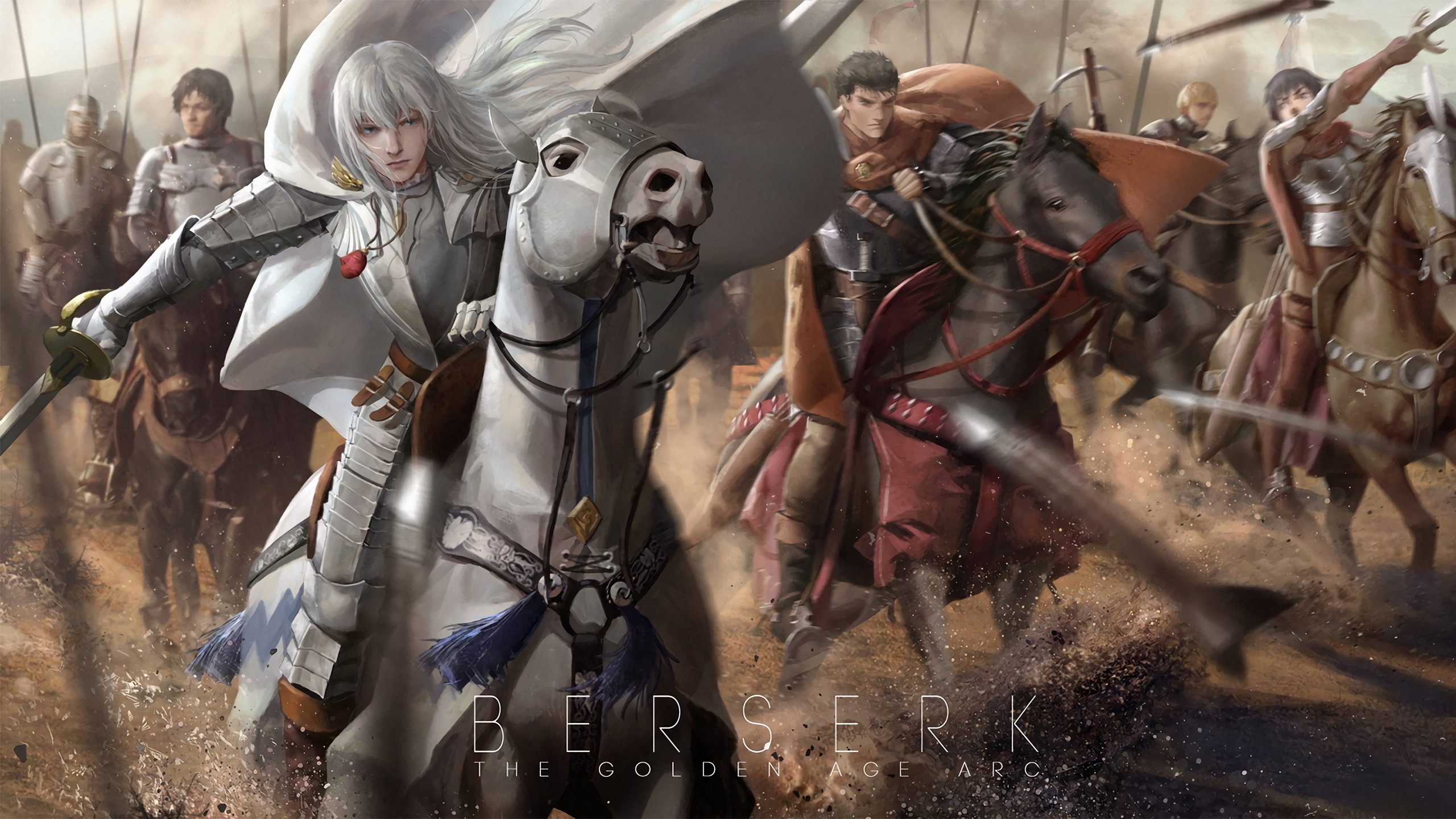 11 Griffith Berserk HD Wallpapers Background Images 2560x1440