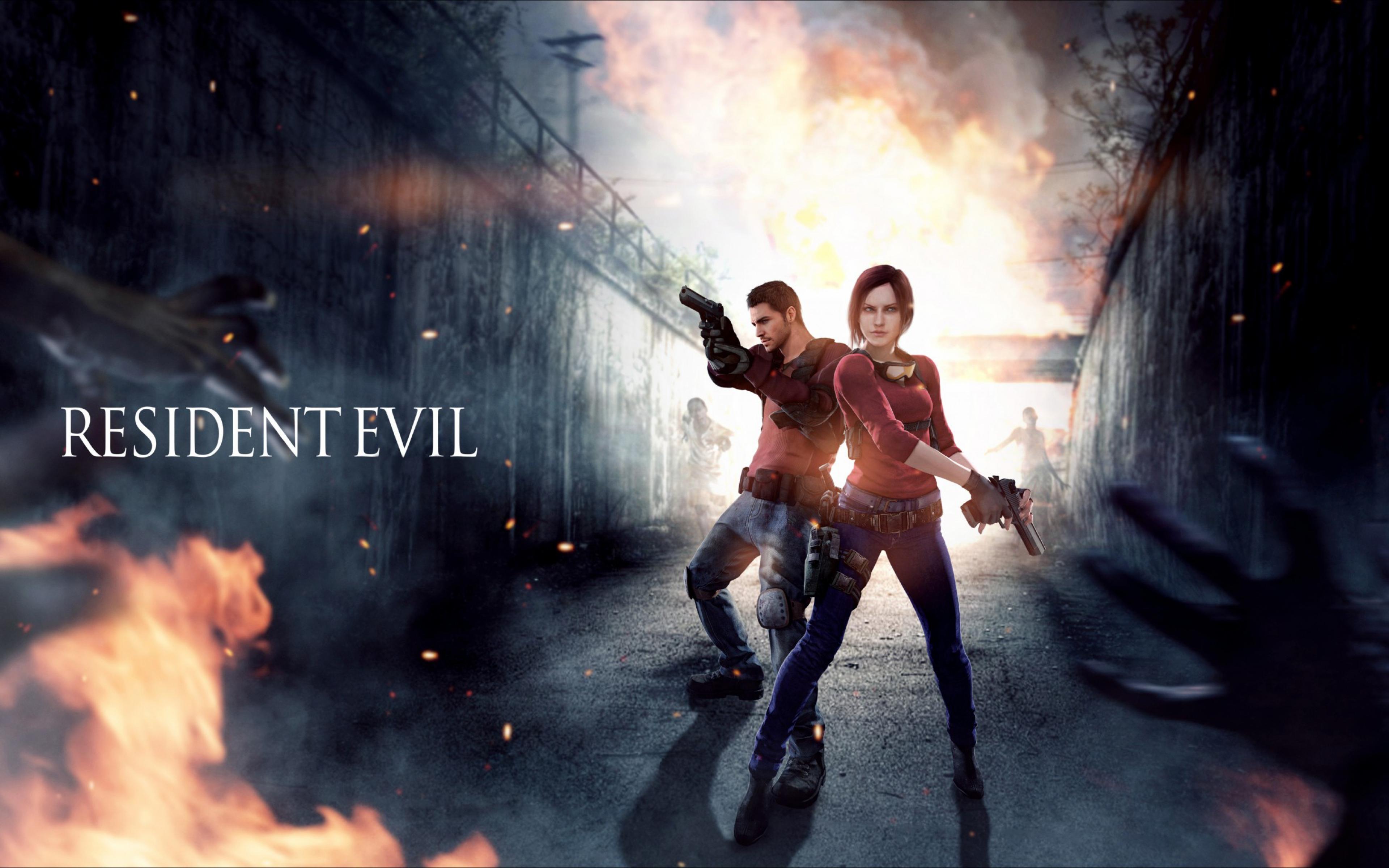 resident evil wallpaper 3840x2400