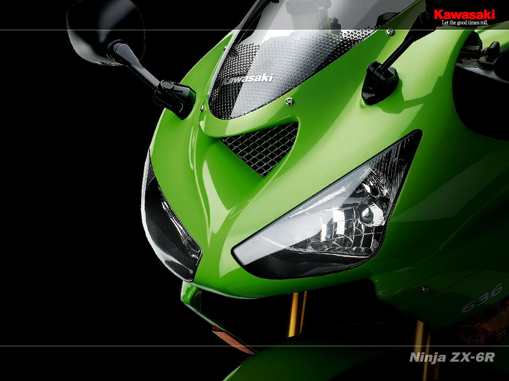 HQ Kawasaki Ninja ZX 6R Wallpaper Wallpapers 1024x768
