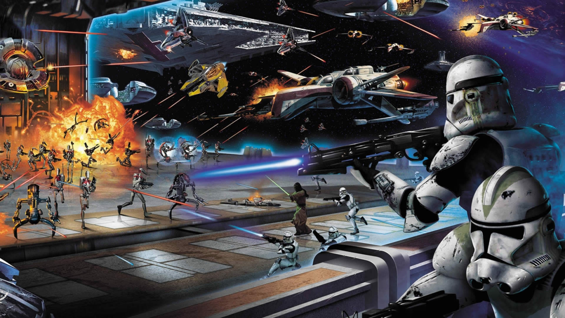 Epic Star Wars Wallpapers   Top Epic Star Wars Backgrounds 1920x1080