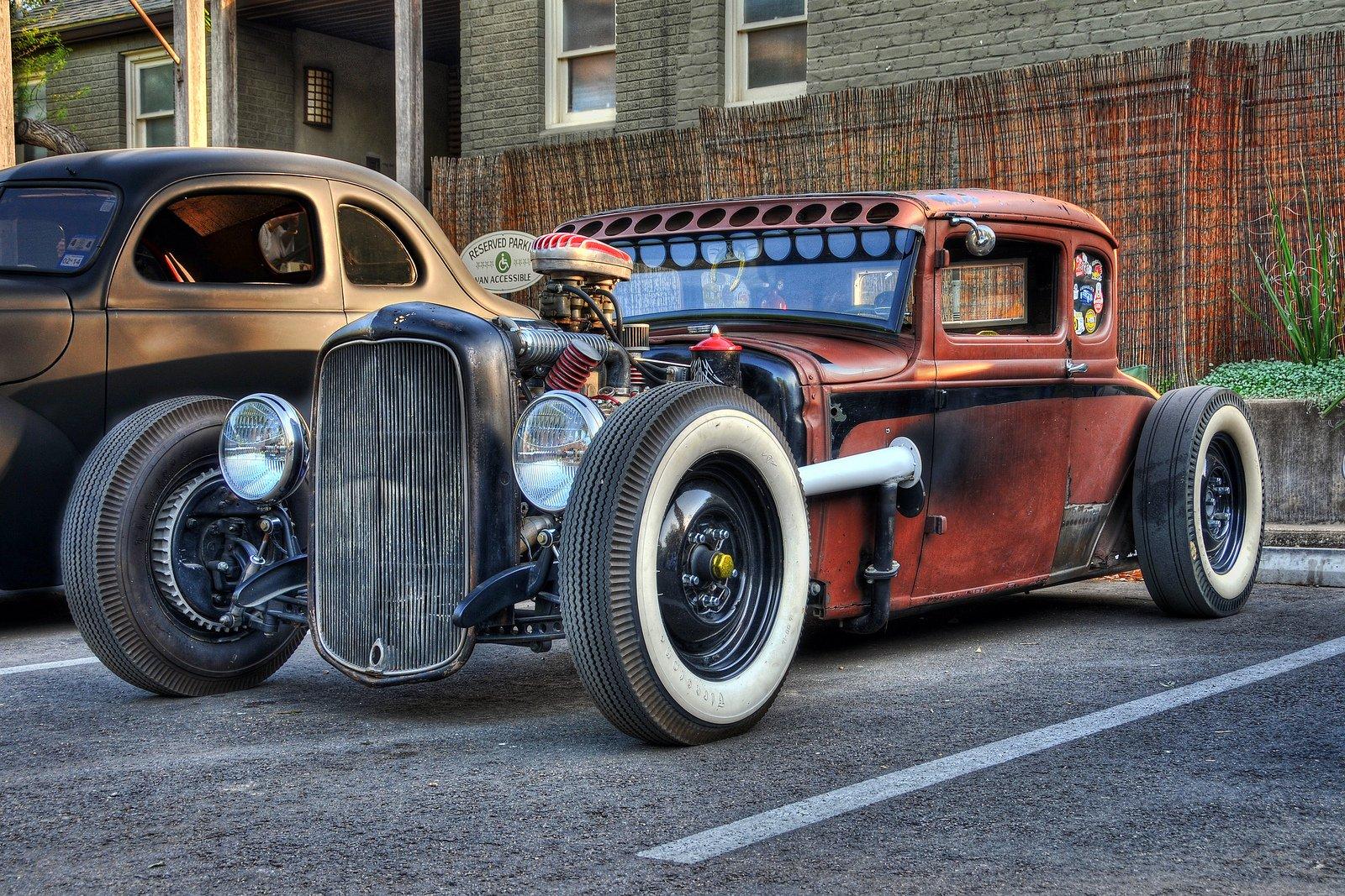 Street Rod hot rod custom cars lo rider vintage cars usa wallpaper 1600x1067
