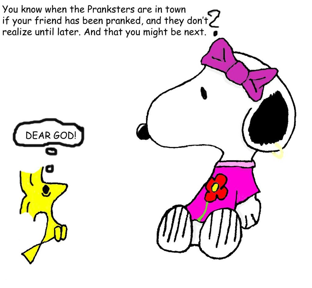 snoopy and woodstock by 5300TF 1024x943