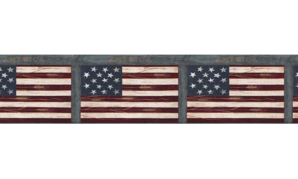 Home Flag Wallpaper Border B74773 1000x600