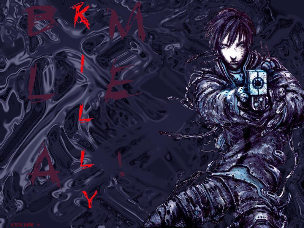 Cyberpunk Killy Wallpaper 1024x768 Cyberpunk Killy Blame 1024x768