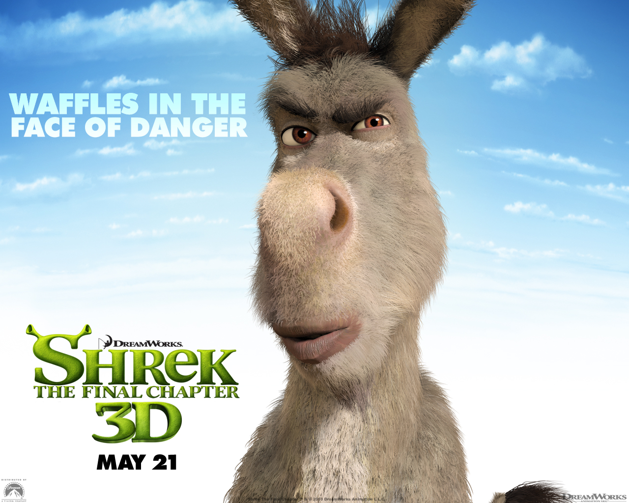 Free Download Donkey From Shrek Forever After Wallpaper