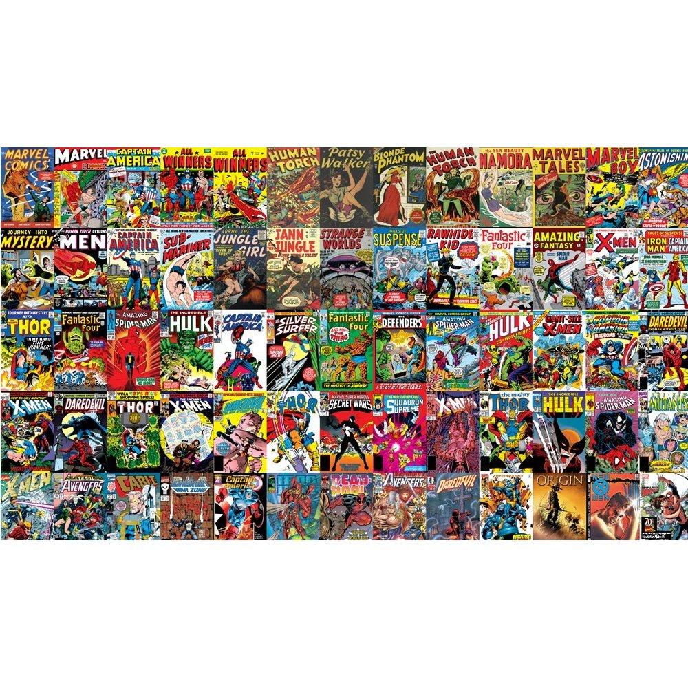 1000x1000px Vintage Superhero Wallpaper