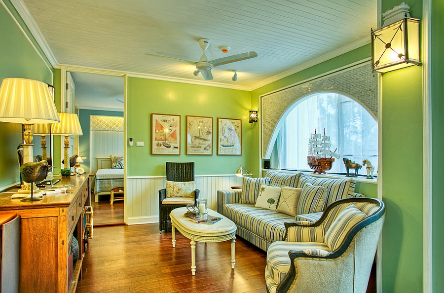25 Living Rooms that Unleash the Refreshing Charm of Green 900x594
