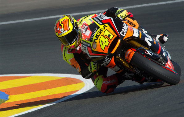Wallpaper motogp yamaha espargaro moto race motorcycle rotate 596x380
