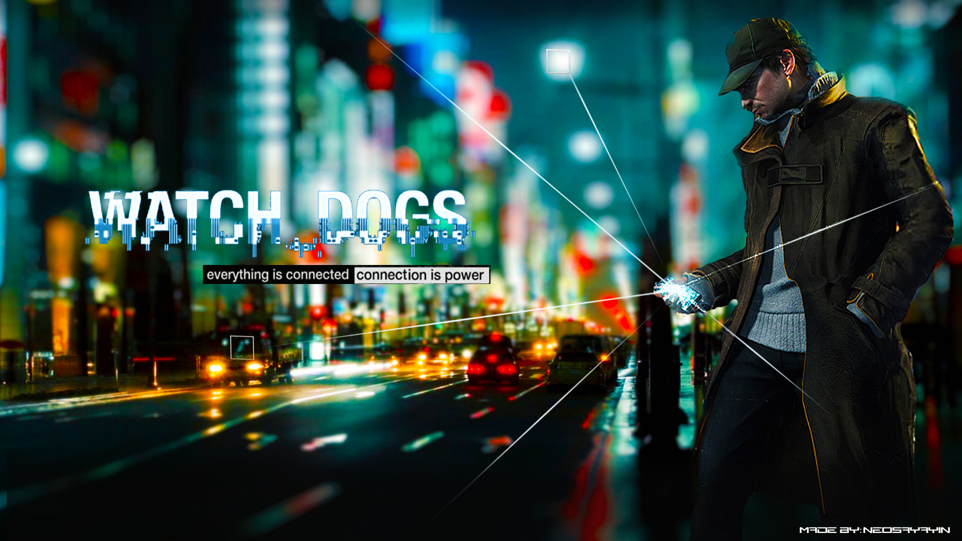 96 Watch Dogs HD Wallpapers Backgrounds 1920x1080