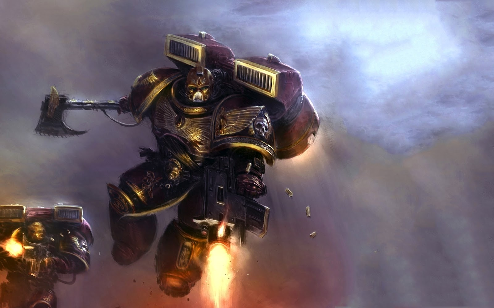 Internet Zone WARHAMMER 40K   SPACE MARINE 1600x1000