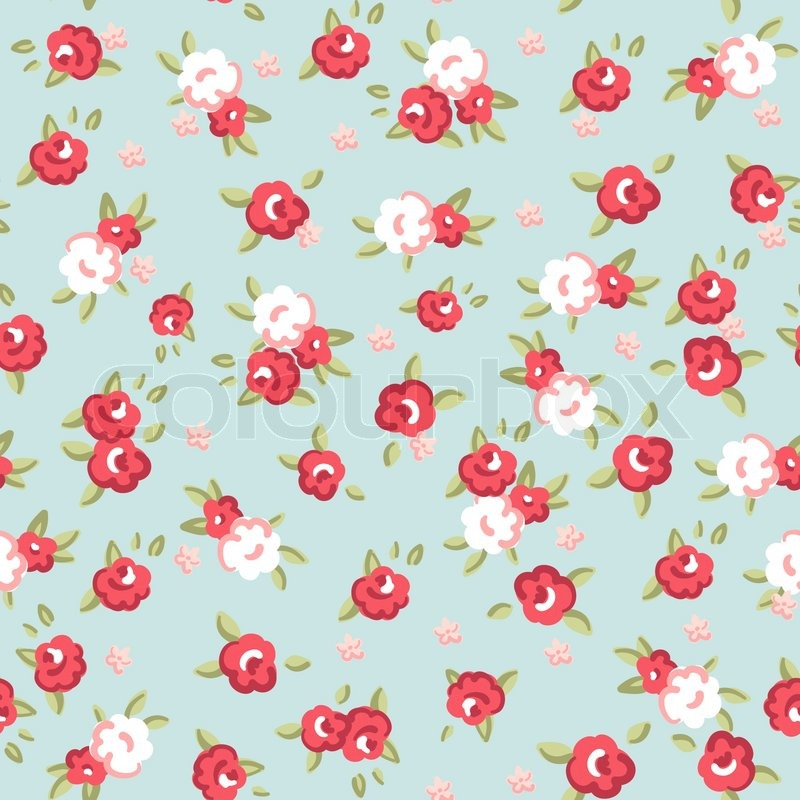 Roseseamless Wallpaper Pattern Pink Roses Stock Canadian Gardening 800x800