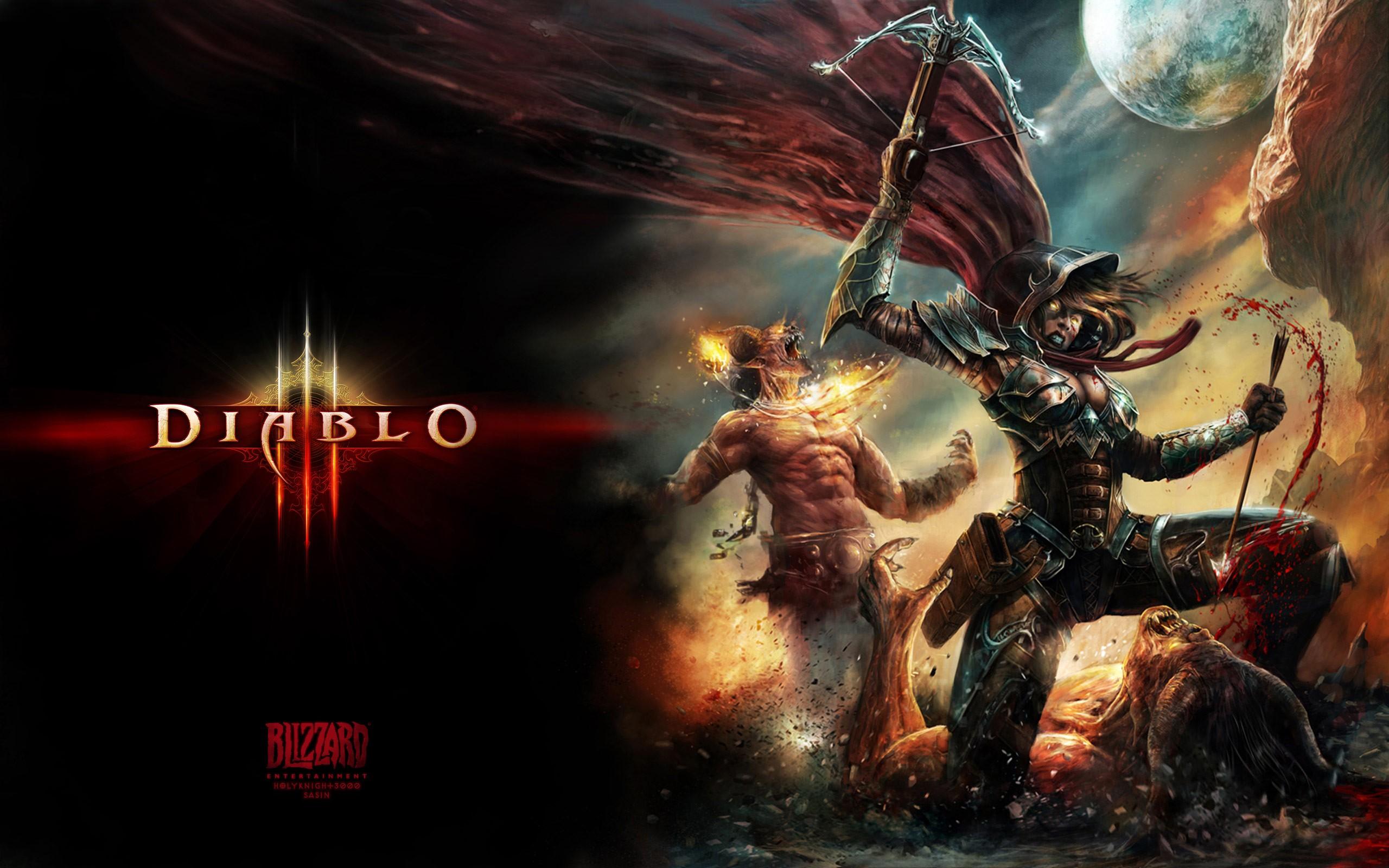 Free Download Demon Hunter Diablo 3 Wallpapers Demon Hunter Diablo