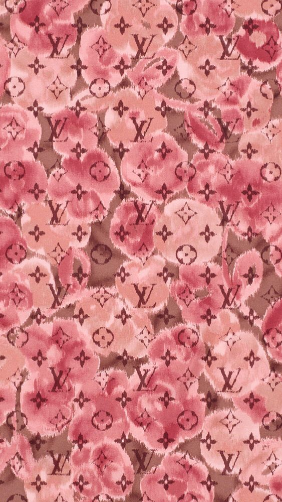 Louis Vuitton Logo Wallpaper Pink Pink Louis Vuitton Wal...