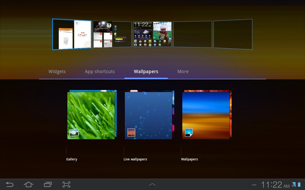 Galaxy Tab wallpaper 1280x800