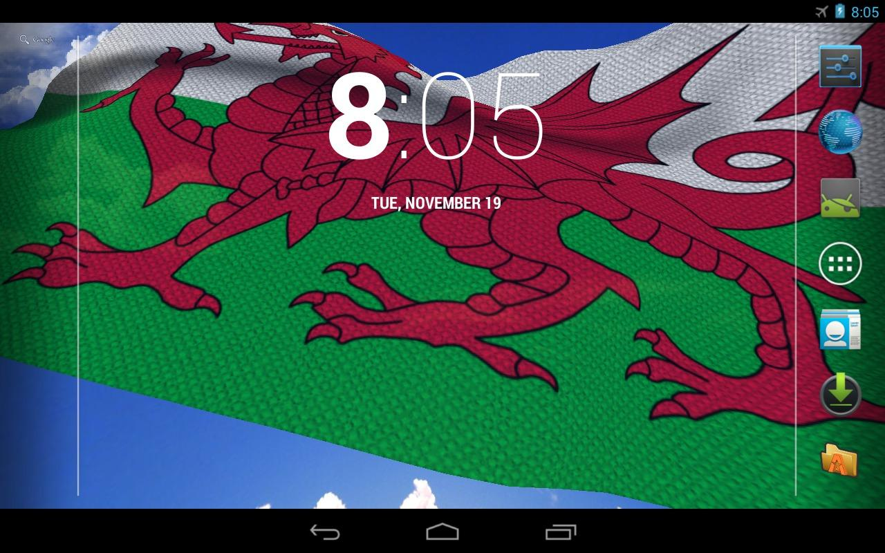 3D Welsh Flag Live Wallpaper   Android Apps on Google Play 1280x800