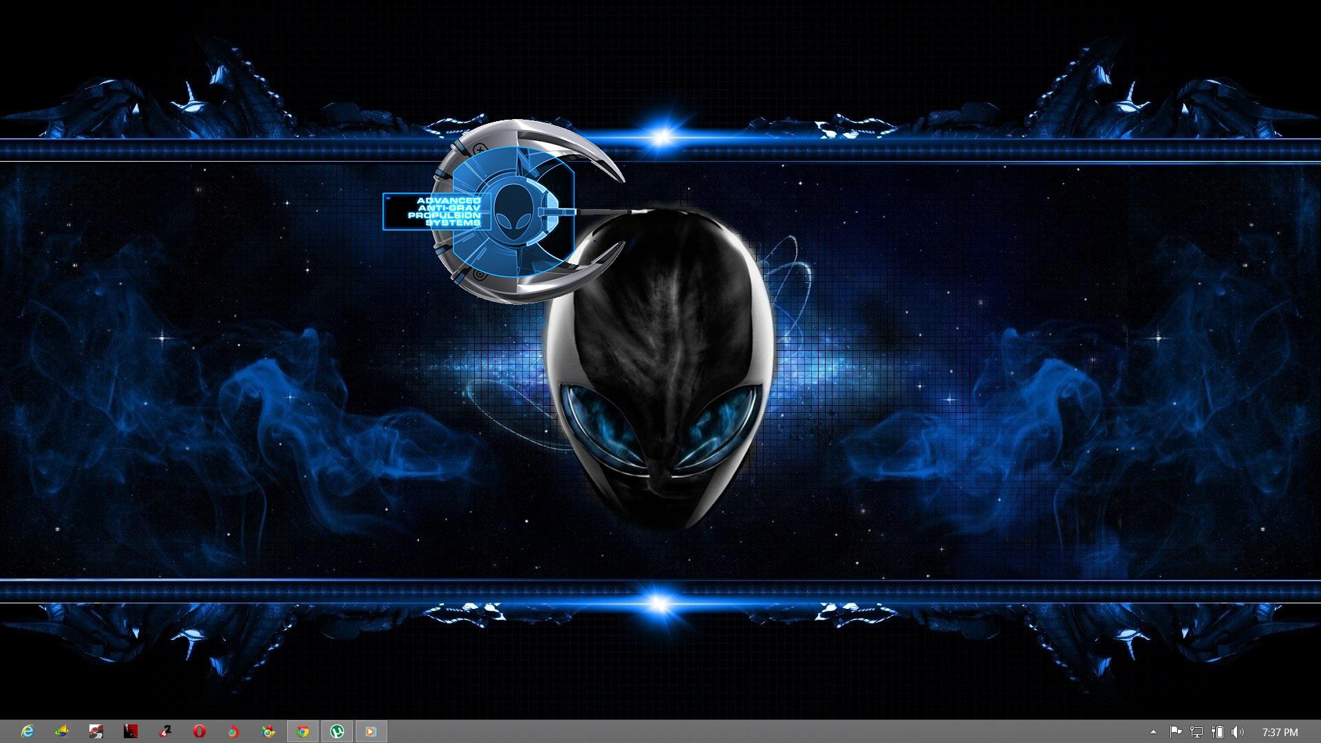 Download Alienware Theme prototype HERO Torrent   KickassTorrents 1920x1080