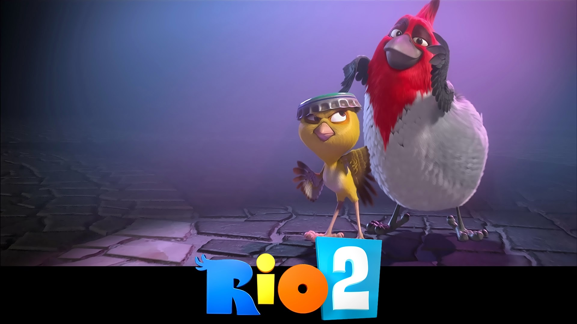 rio 2 movie 2014 hd wallpaper birds image photo 1920x1080 2k 1920x1080