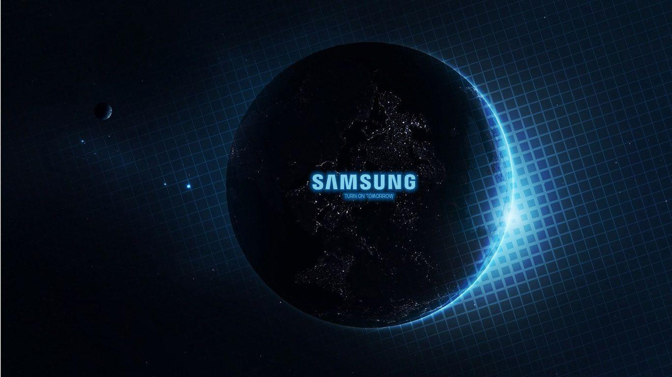 Samsung Logo Wallpapers 1366x768