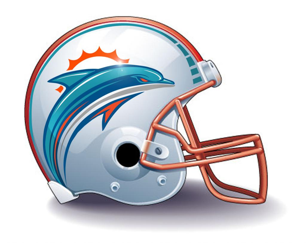 Dolphins new logo on helmet   HD wallpapers   dolphins new logo on 1024x812