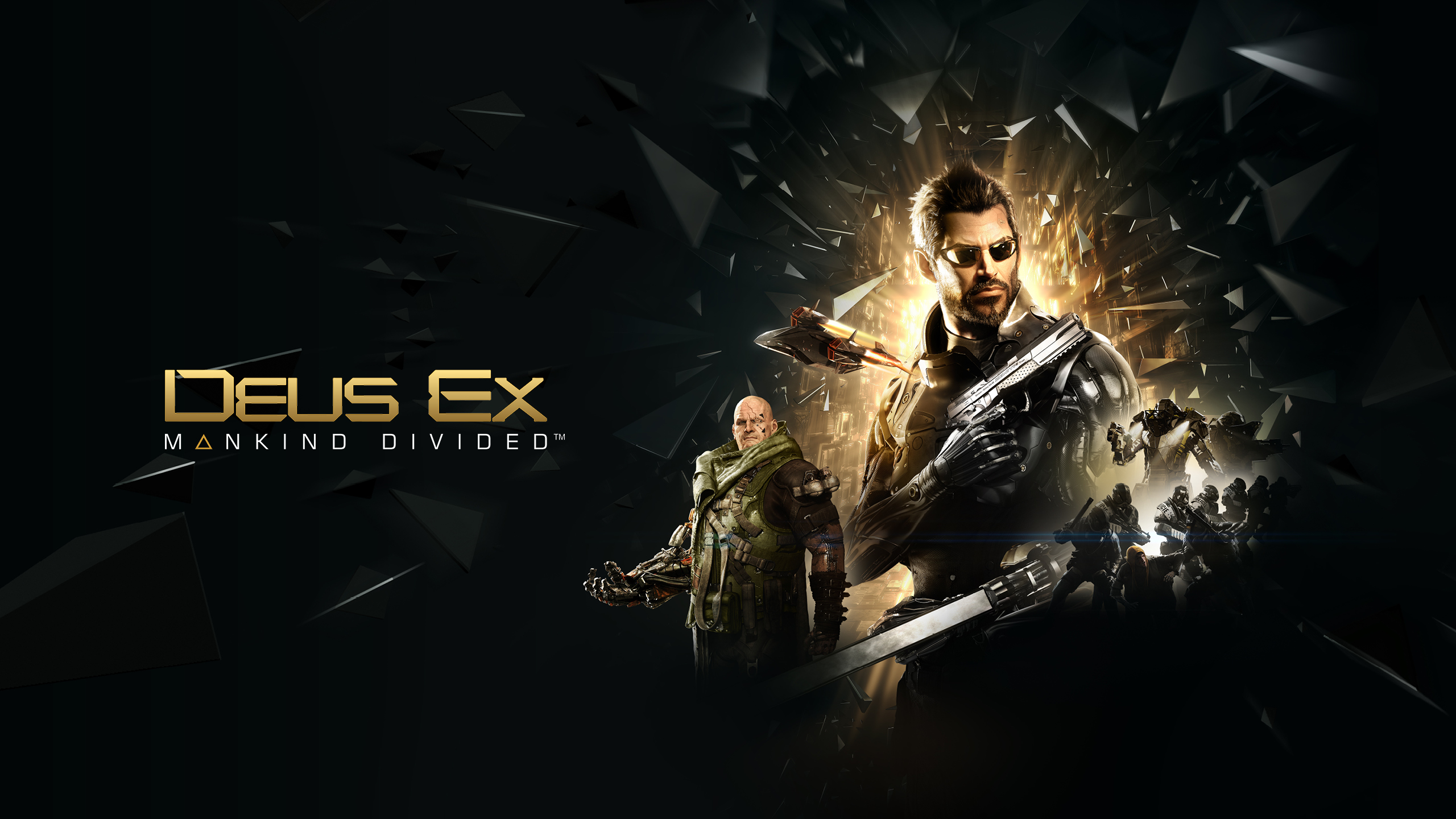148 Deus Ex Mankind Divided HD Wallpapers Backgrounds 2560x1440