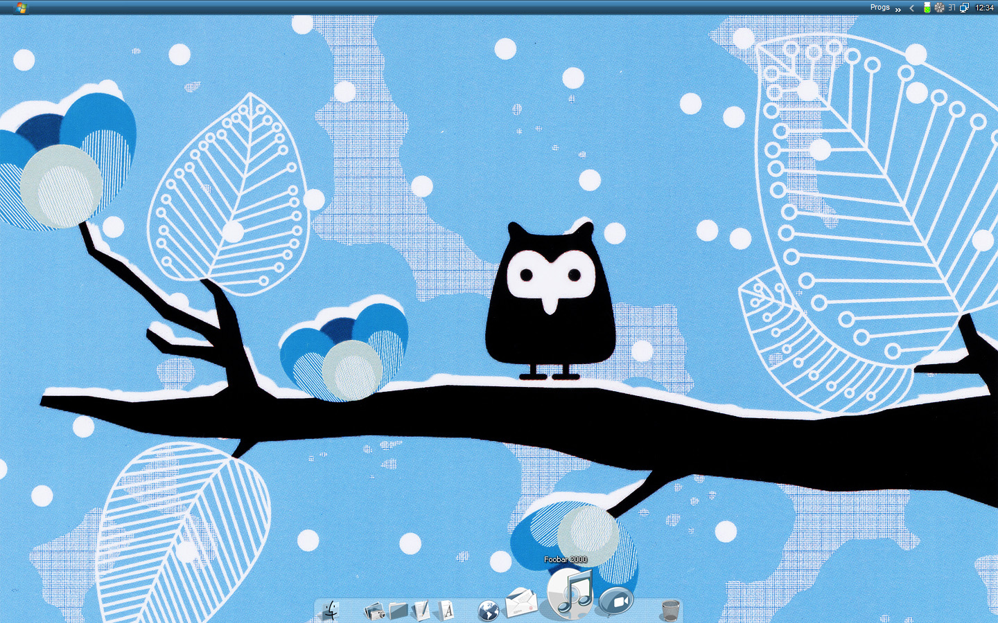 Cute Owl Winter Wallpaper wwwgalleryhipcom   The 1440x900