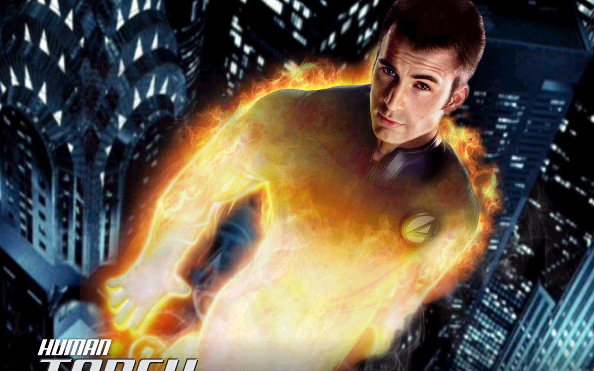 Human Torch Wallpaper 1920x1200 Wallpapers 1920x1200 1920x1200