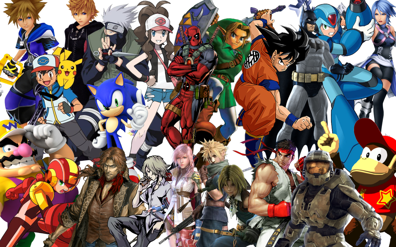 Video game characters   Game characters   Gaming characters   The 1280x800