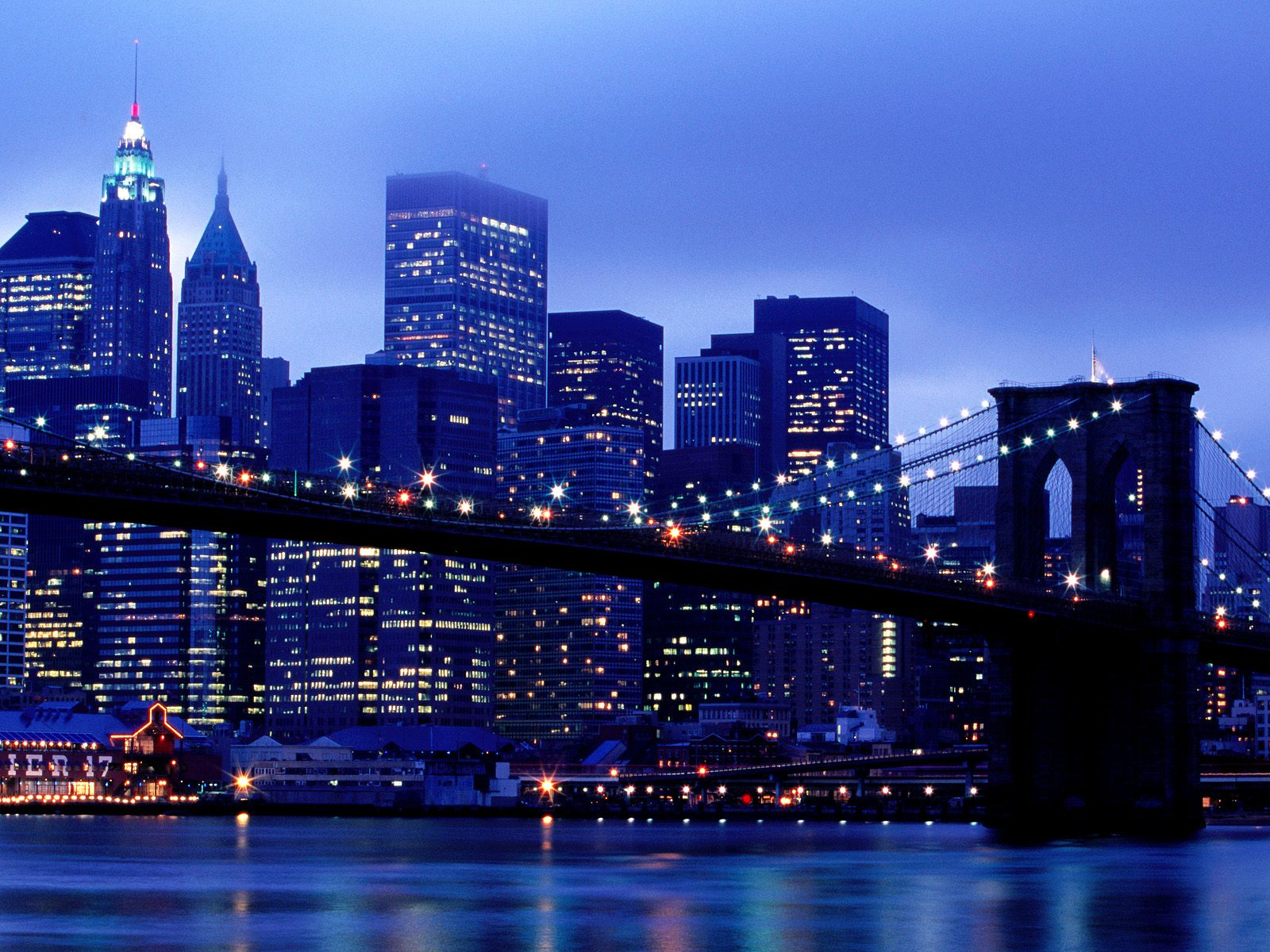 Brooklyn New York picture Manhattan Skyline From Brooklyn New York 1600x1200