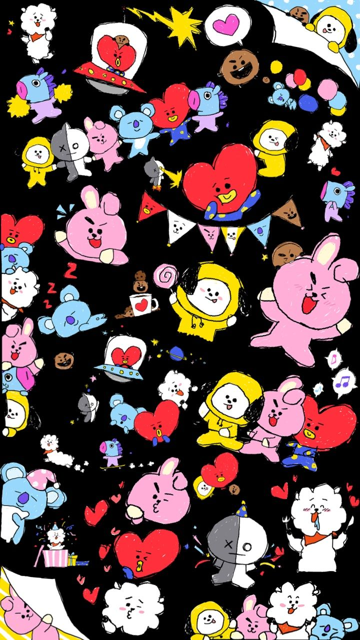 191 best BT21 images Bts wallpaper 720x1280