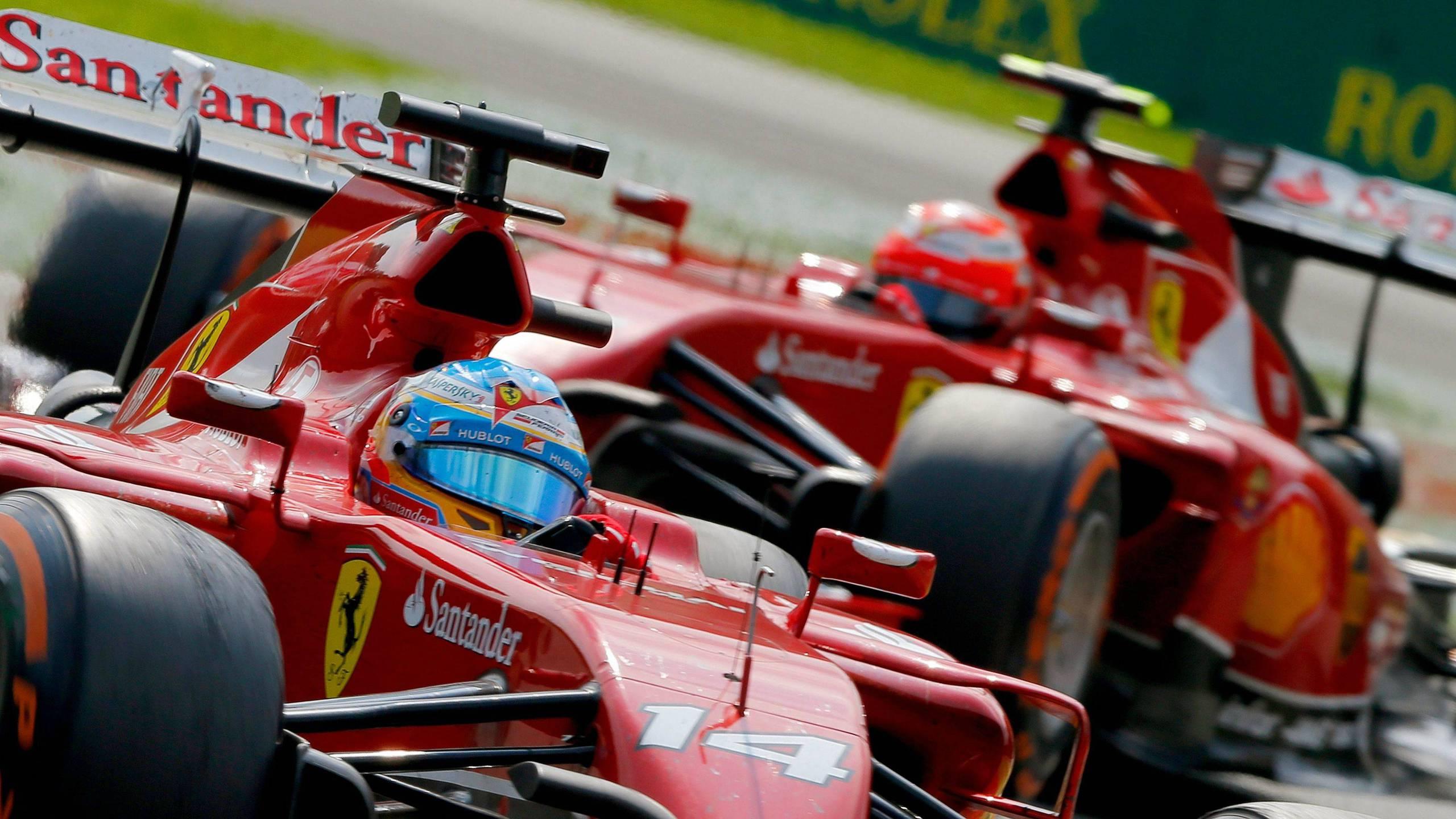 BOTPOST [BOTPOST] Alonso Rikknen   Ferrari F14 T   2014 Italian 2560x1440