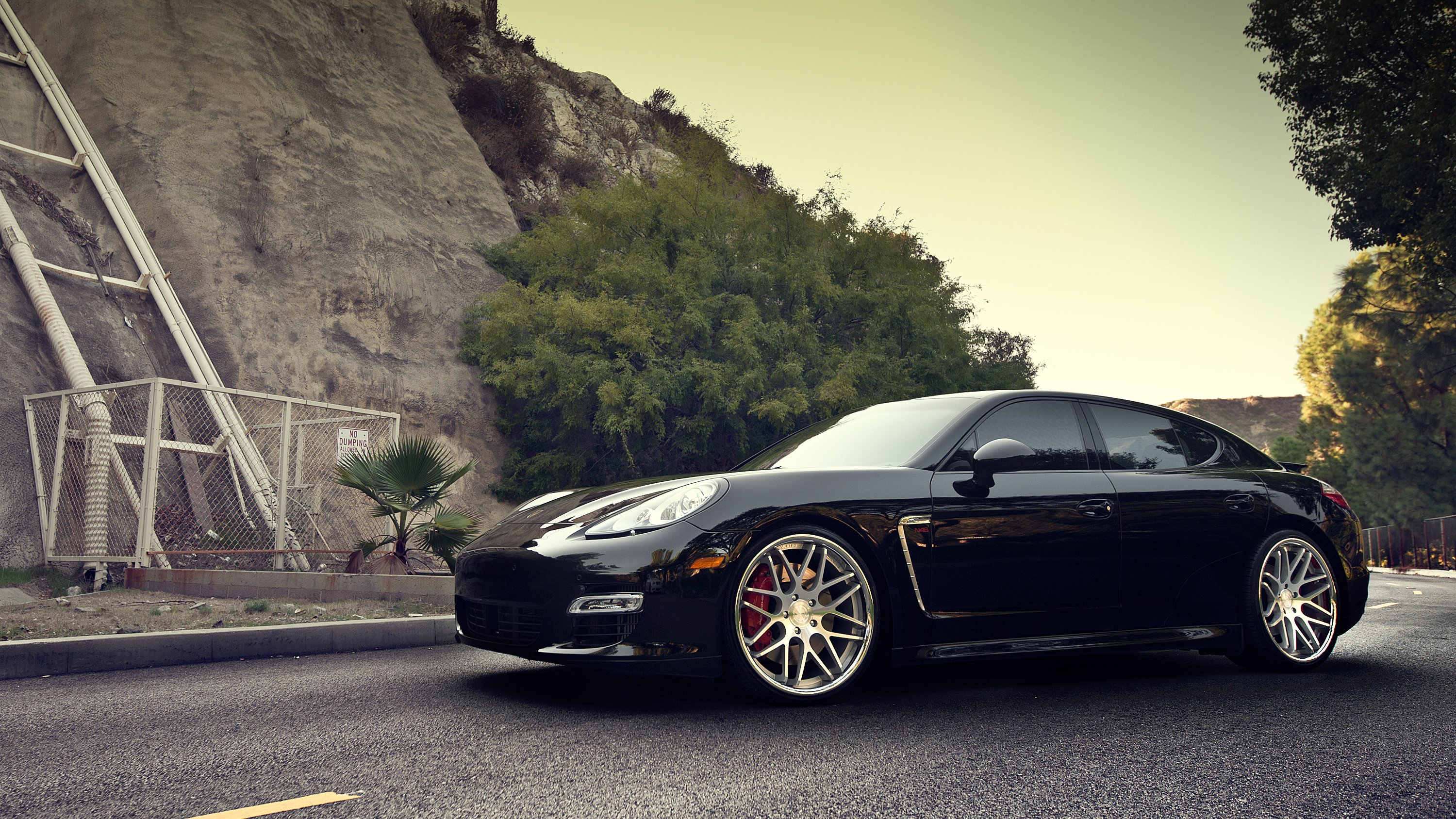 Porsche Panamera Turbo HD Wallpaper Background Images 3000x1688
