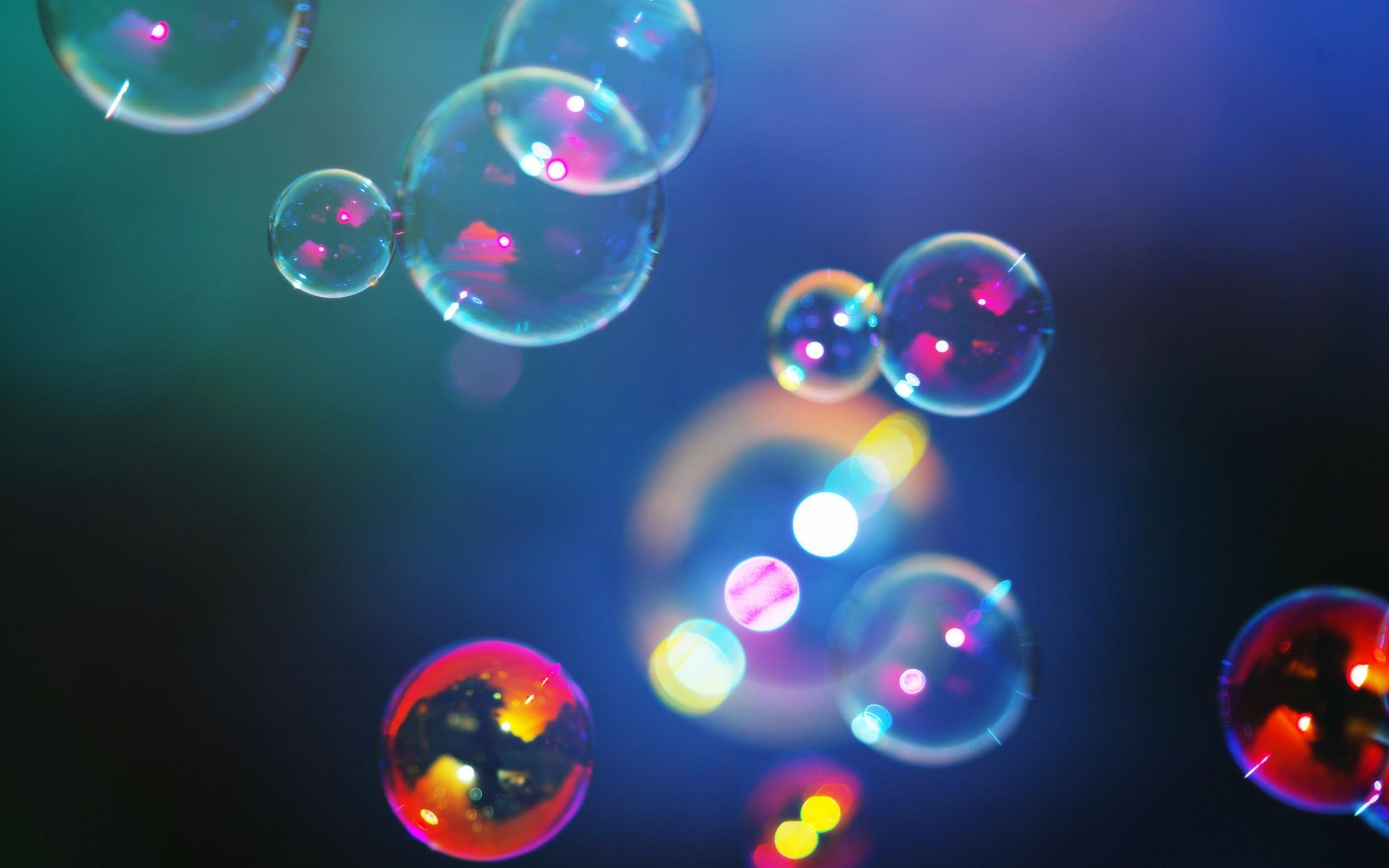 3d colorful bubbles backgrounds MEMEs 2560x1600