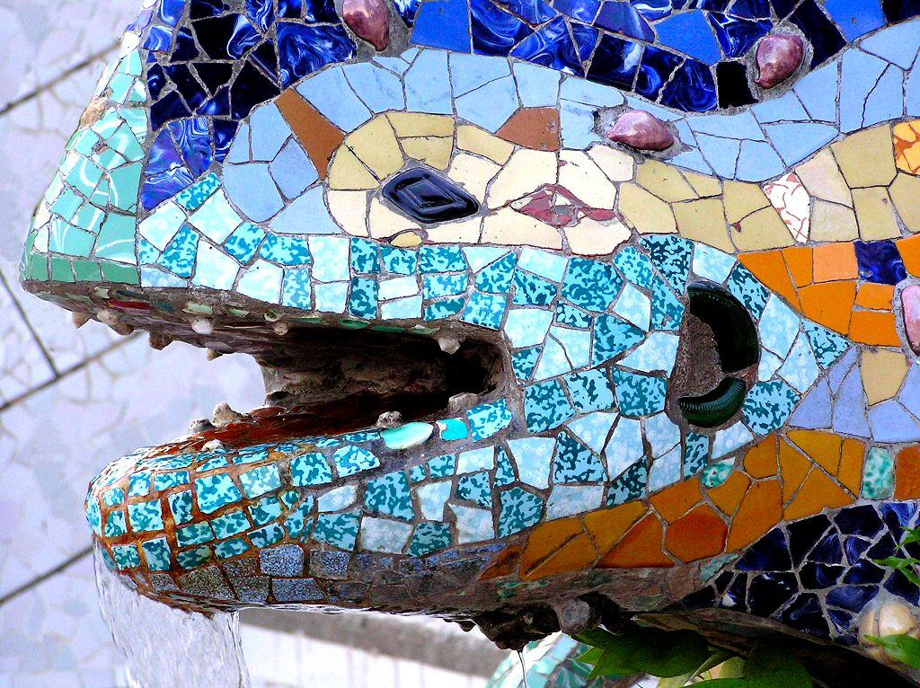 Gaudi   Ideal Spanish vacation city break Photographic Wallpaper 1024x766