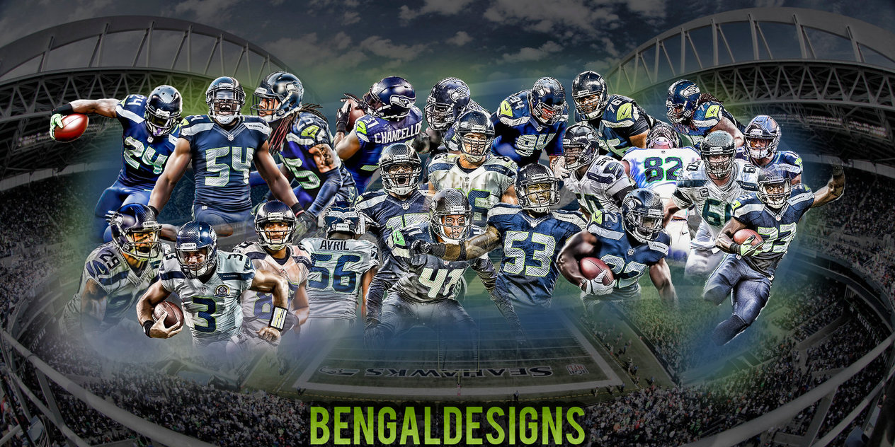 Seattle Seahawks Wallpaper by Bengal by bengalbro 1264x632