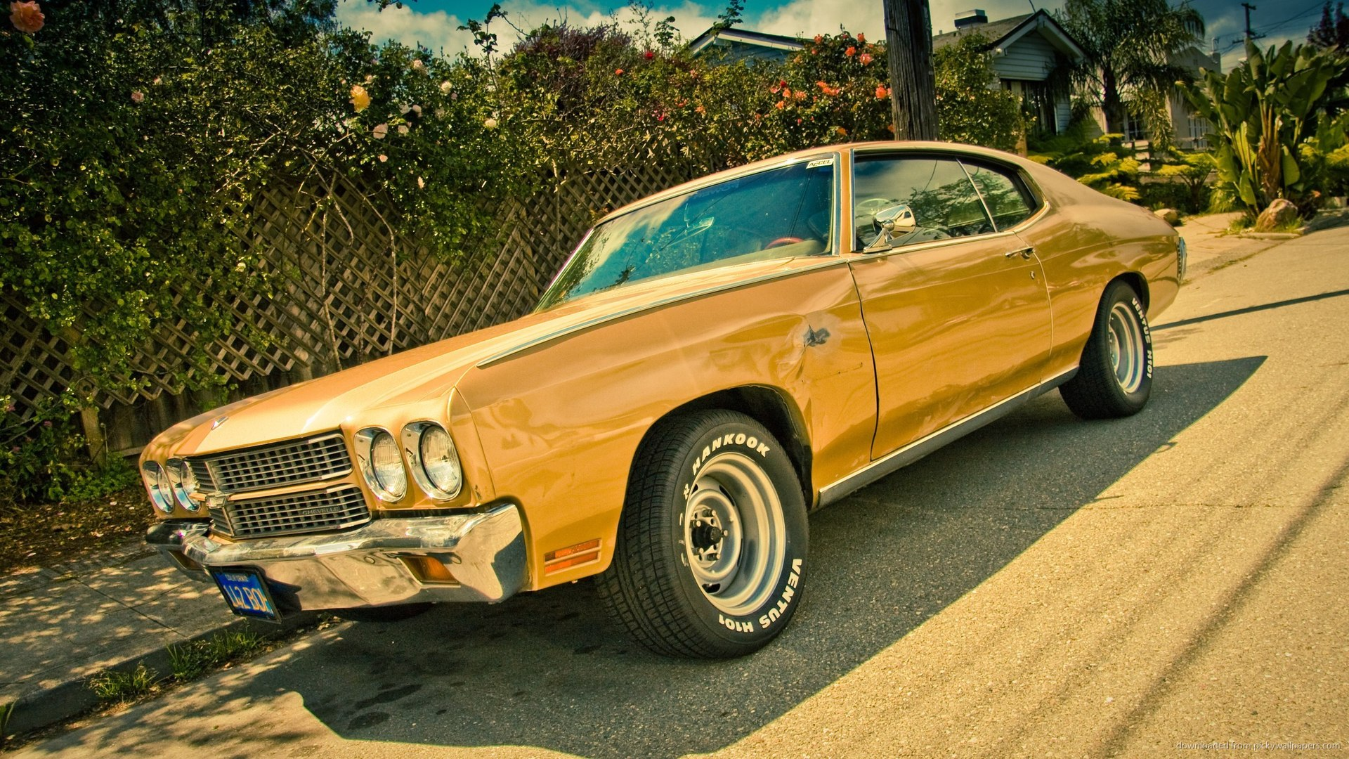 1970 Chevrolet Chevelle SS Wallpaper For iPhone 4 1920x1080