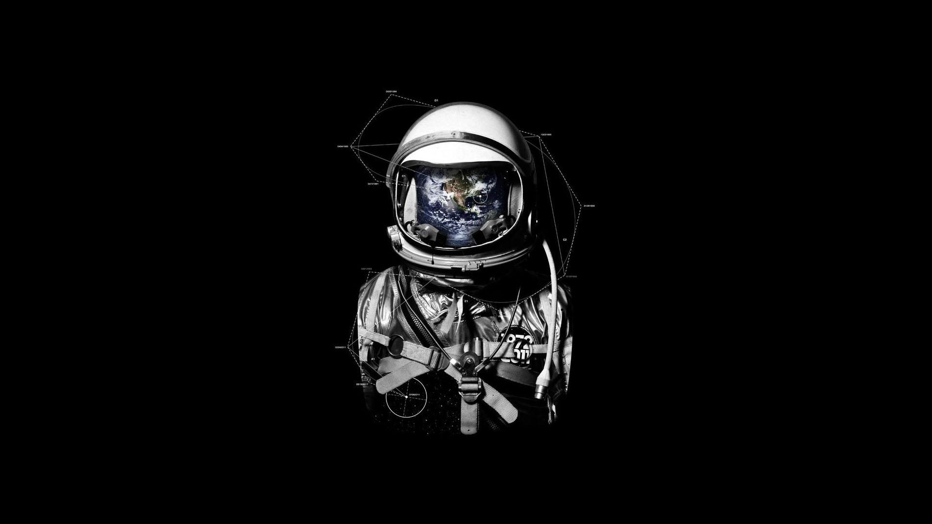 Interstellar Movie Black Space Artwork 1920x1080 wallpaper 1920x1080