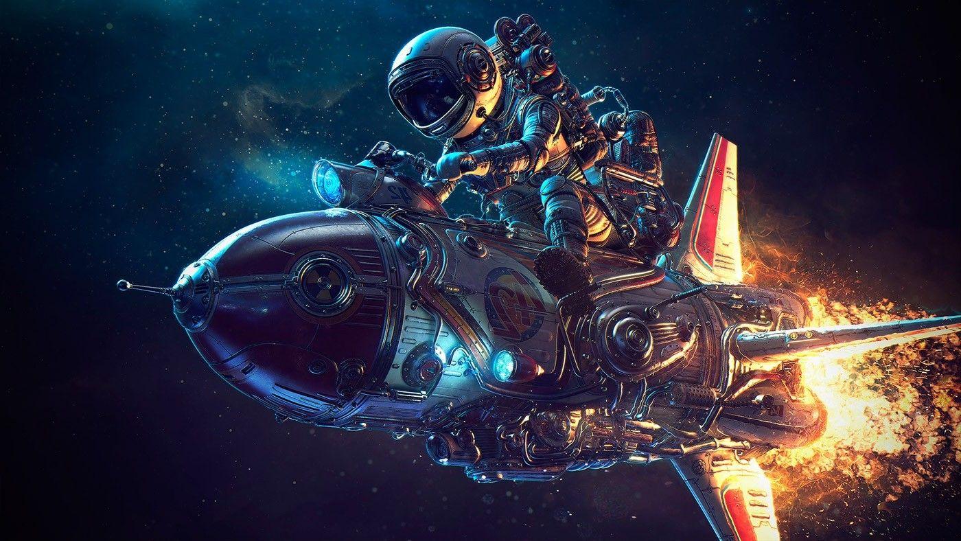 Astronaut Galaxy Wallpapers   Top Astronaut Galaxy 1400x788