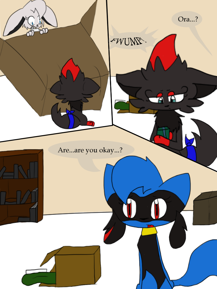 PMD   Broken Home page 3 by Evildraws 750x998